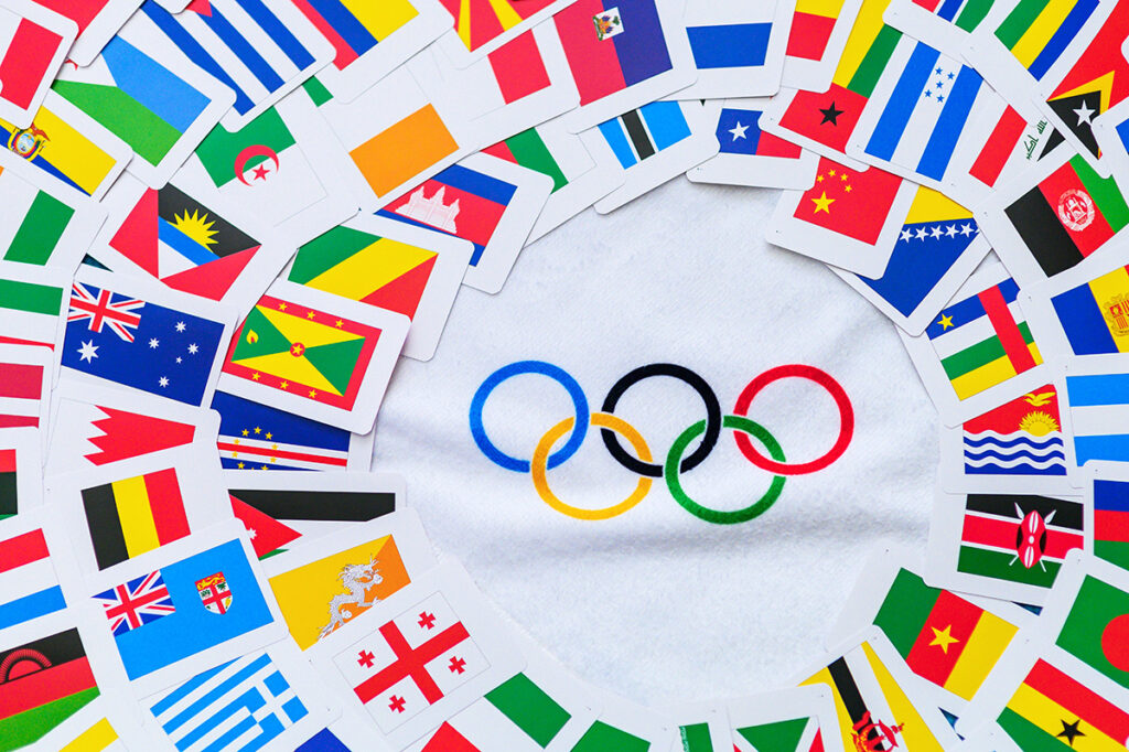 logo olimpiadi